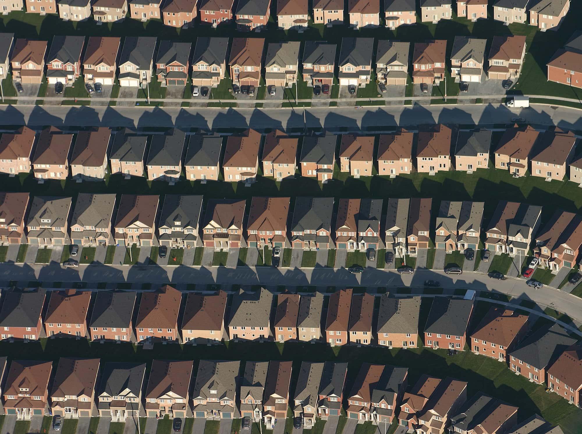 New subdivision in Brampton